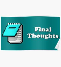 Title Card - Final Thoughts Poster