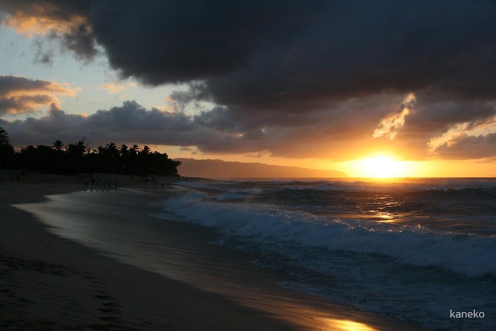 Sunset Beach by kaneko