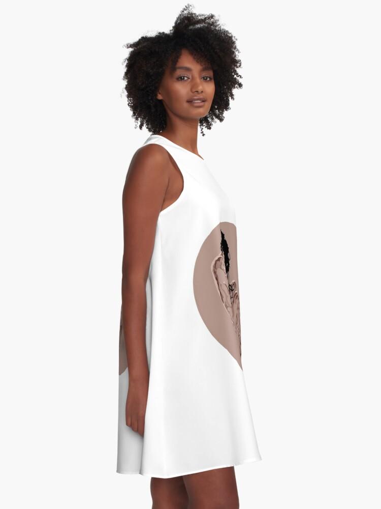 Alternative Ansicht von Blanket A-Linien Kleid