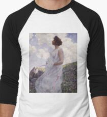 George Hitchcock - Calypsoabout 1906 Men's Baseball ¾ T-Shirt