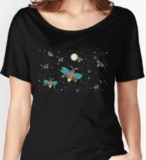 Fun With Fireflies Women's Relaxed Fit T-Shirt