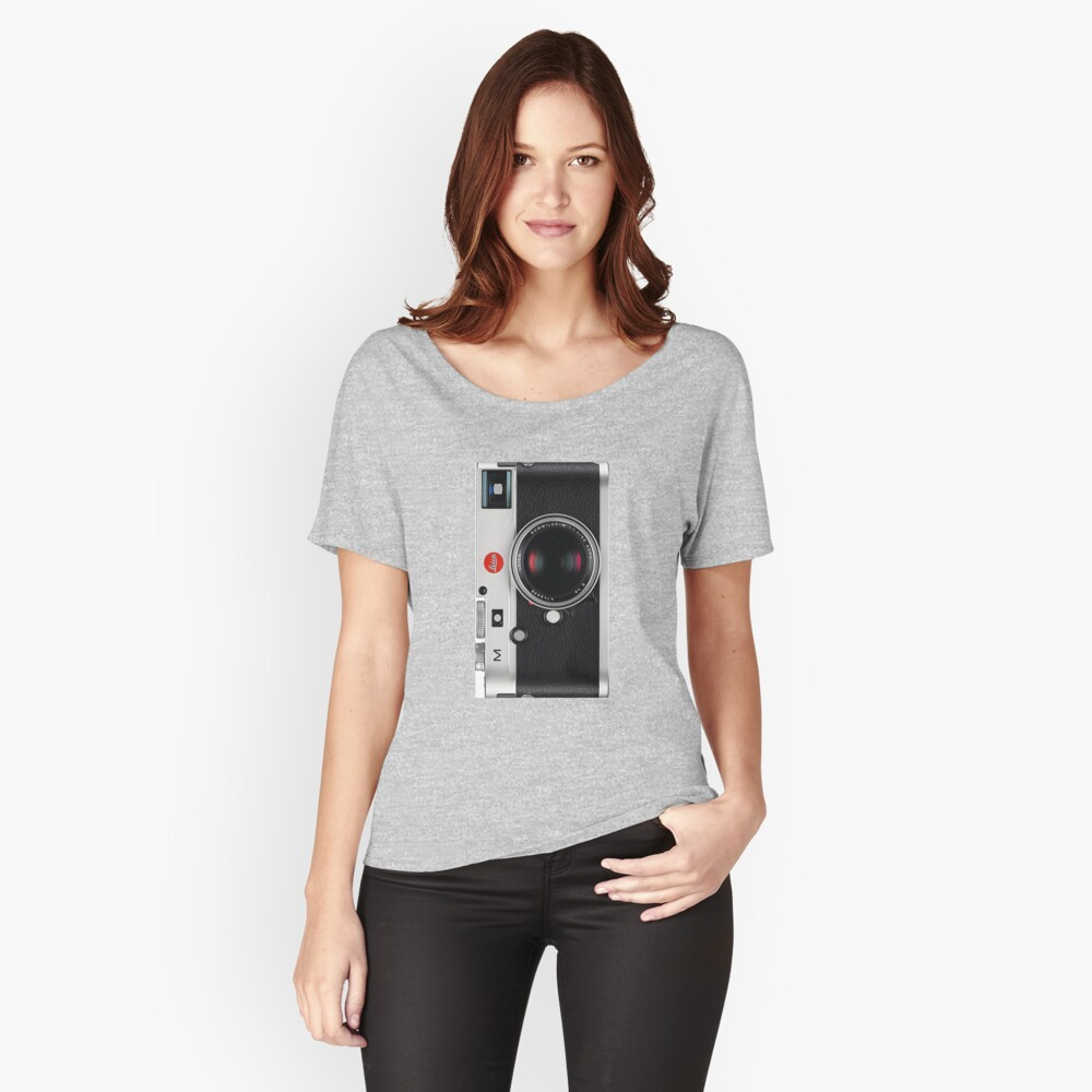 Leica Vintage Style Handyhülle Loose Fit T-Shirt