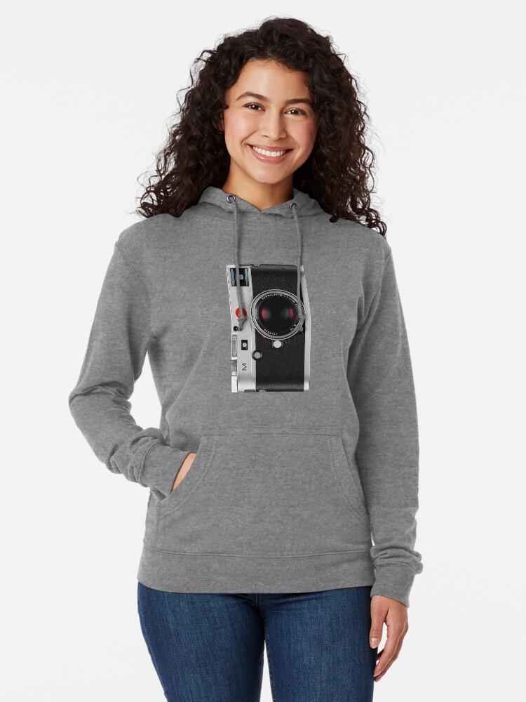 Alternative Ansicht von Leica Vintage Style Handyhülle Leichter Hoodie