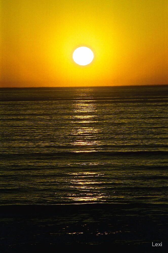 Sunset San Simeon by Lexi
