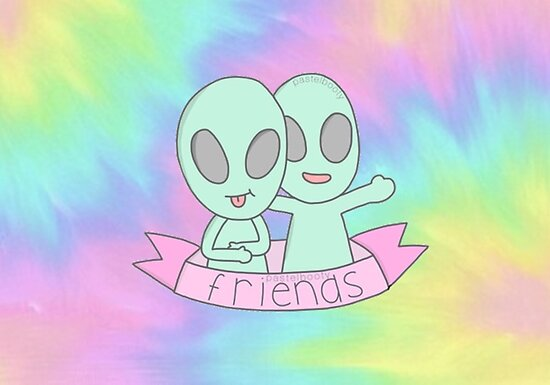 Best Friends Tumblr Quote Sticker Tie Dye Posters By Charlottec123