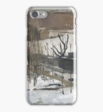 George Hendrik Breitner - View Of The Oosterpark, Amsterdam, In The Snow, 1892 iPhone Case/Skin