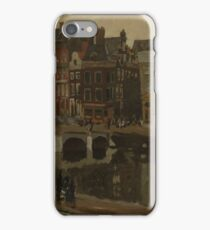 George Hendrik Breitner - The Rokin In Amsterdam, 1897 iPhone Case/Skin