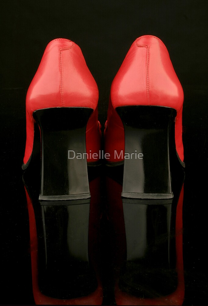 Red shoes  by Danielle Marie