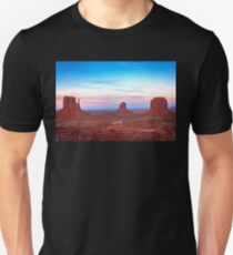 Sunset at Monument Valley  Unisex T-Shirt