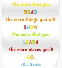 Dr Seuss Day Poster