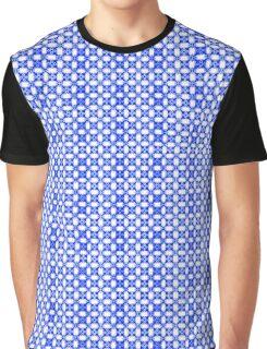 Blue Petals Graphic T-Shirt