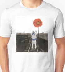 The Girl and the Poppy Unisex T-Shirt