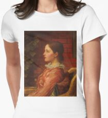 George Frederic Watts - Alice 1883 Womens Fitted T-Shirt