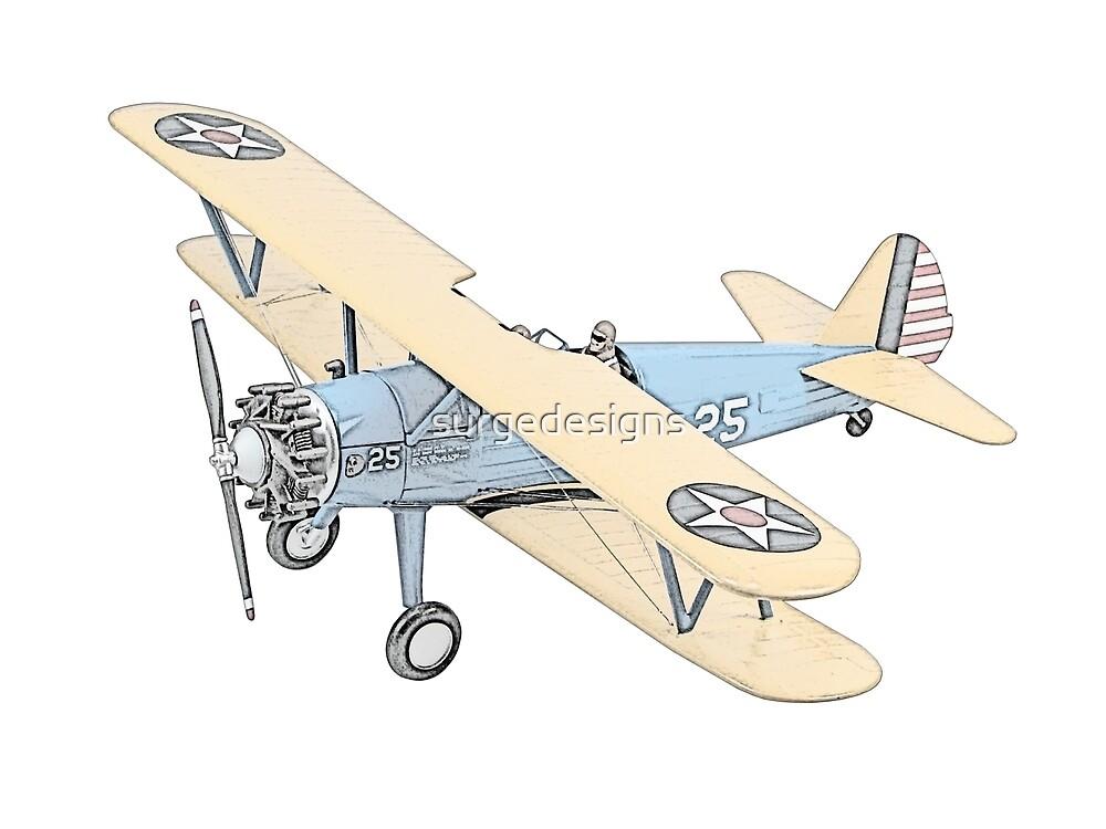 Stearman PT-17 Bi-Plane by surgedesigns