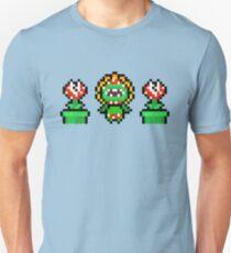 Piranha plant trio Unisex T-Shirt