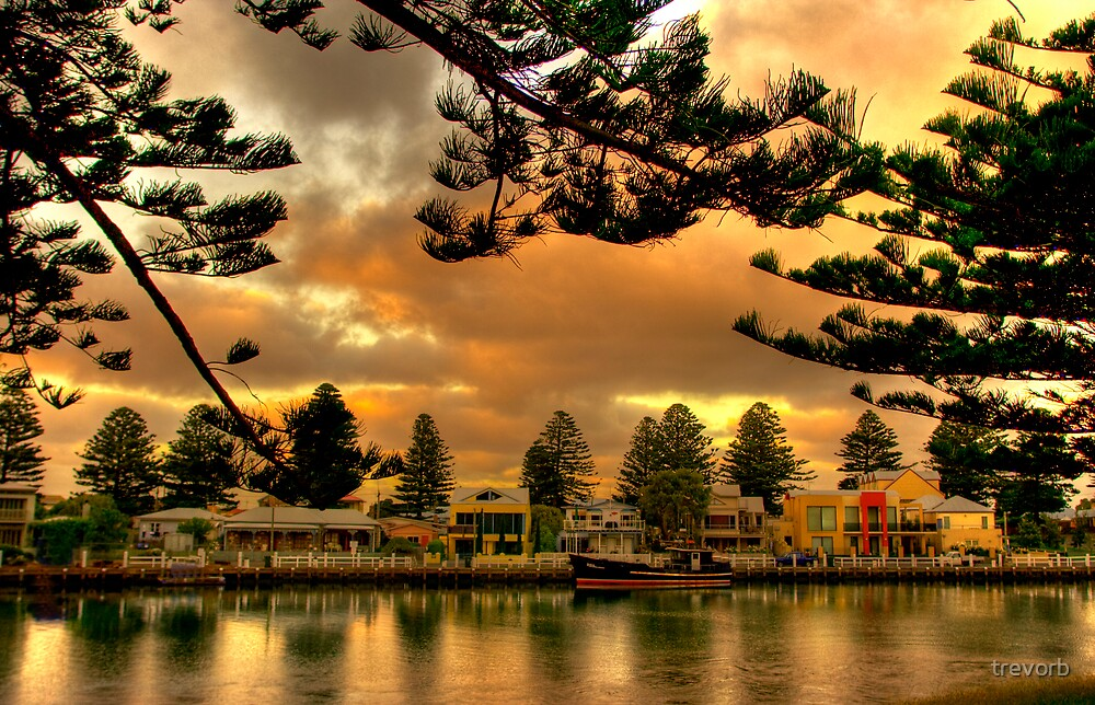 Port Fairy Marina 2 by trevorb