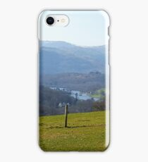 Views down to Rydal Water iPhone Case/Skin