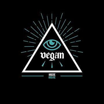 Vegan Conspiracy Shirt by troymaboy