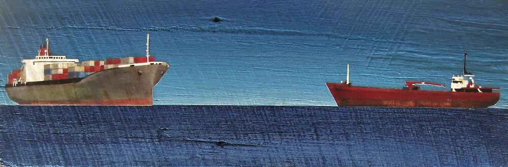 LITTLE JULIA SHIP PANEL by jo vautier