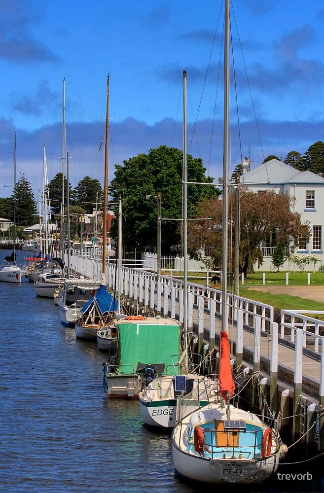 Port Fairy Marina 3 by trevorb