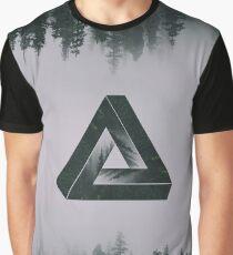 landshapes - triangle Graphic T-Shirt