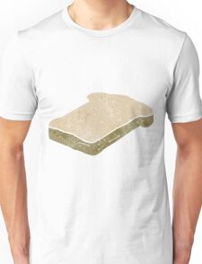 retro cartoon bread slice Unisex T-Shirt