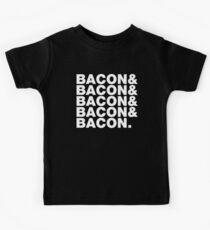 Bacon & Bacon & Bacon & Bacon & Bacon. Kids Tee