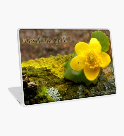 Marsh Marigold  Laptop Skin