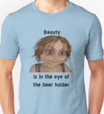 Beer and Beauty Unisex T-Shirt