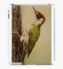 Woodpecker art iPad Case/Skin