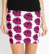 pink Skull Minirock