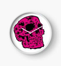 pink Skull Uhr