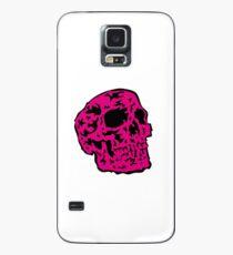 pink Skull Hülle & Skin für Samsung Galaxy