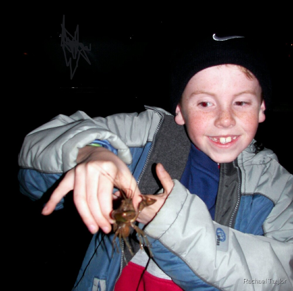 First Yabby! by Rachael Taylor