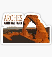 Arches National Park Utah Sticker