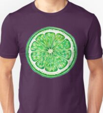 Lime Slice Unisex T-Shirt