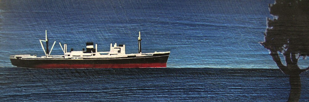 ONE TREE SHIP PANEL by jo vautier