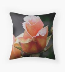 photoj Flora 'Pink bud' Throw Pillow