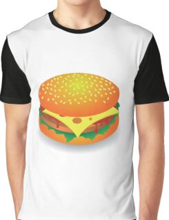 hamburger Graphic T-Shirt