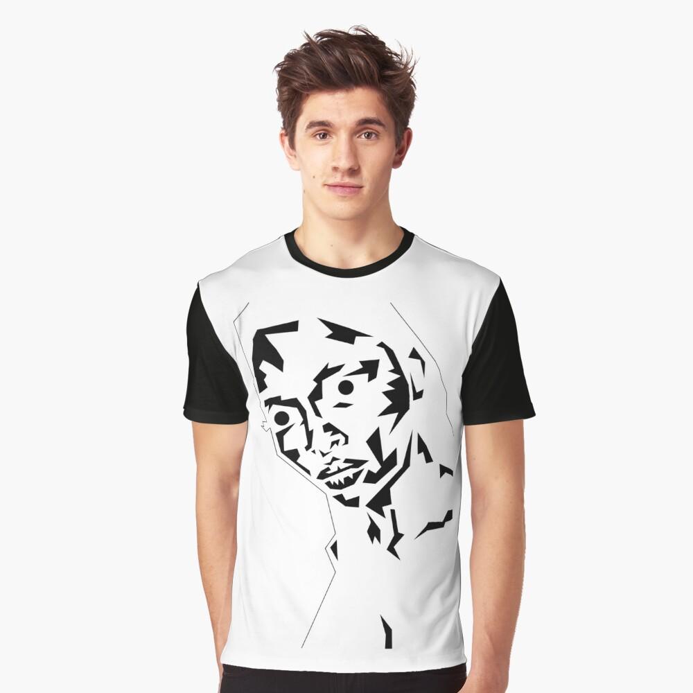 those Eyes Grafik T-Shirt Vorne