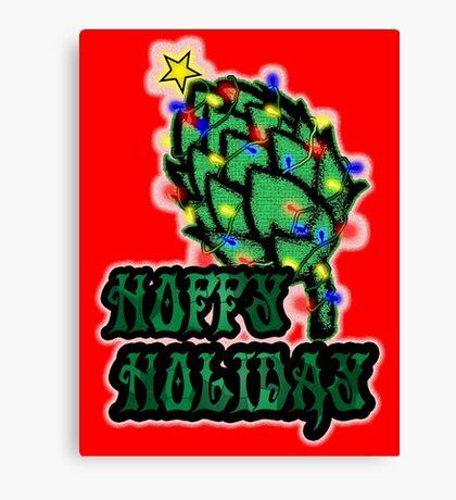 Hoppy Holiday Canvas Print