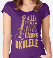 Ukulele Women's Fitted Scoop T-Shirt
