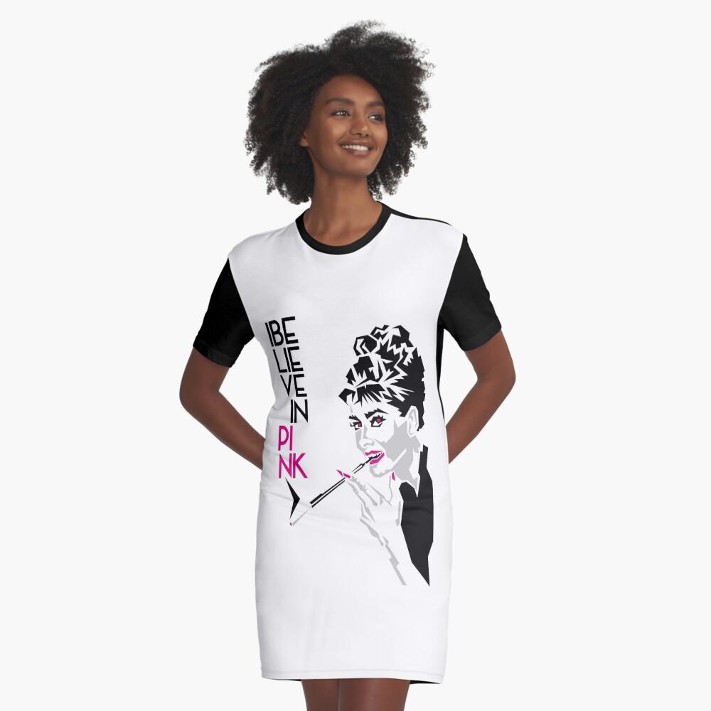 Audrey T-Shirt Kleid Vorne