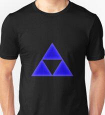 Blue Triforce Unisex T-Shirt