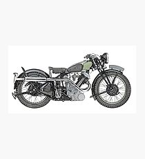 1935 Panther Motorcycle Photographic Print
