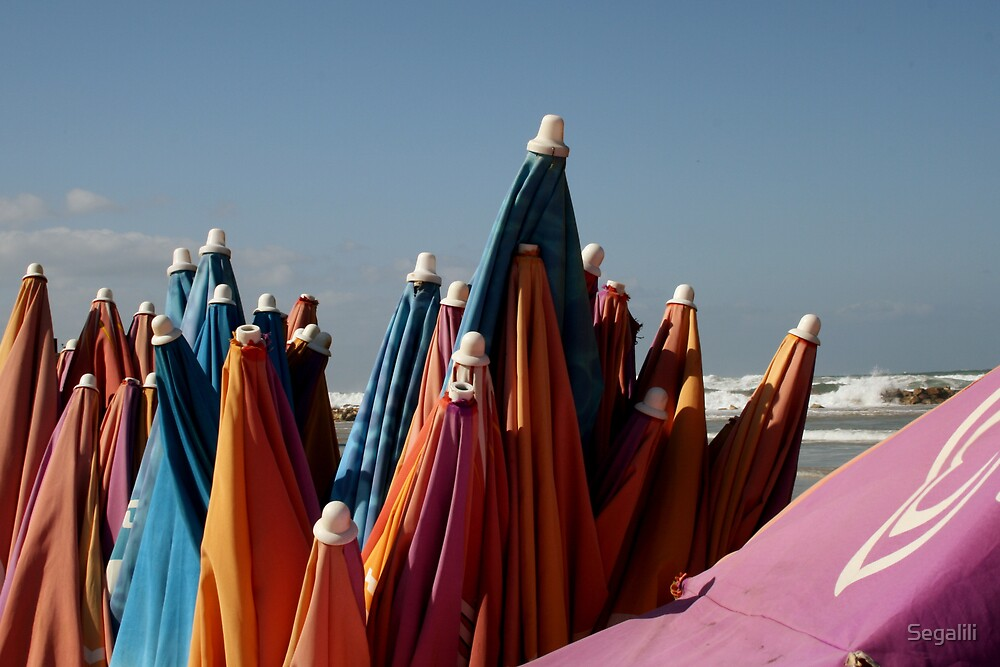 Beach Umbrellas by Segalili