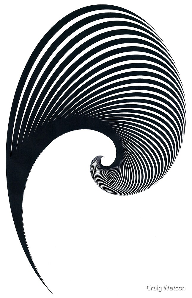 Two Point Spiral by Craig Watson