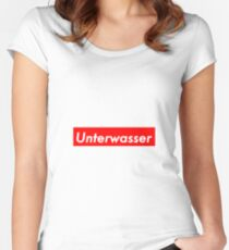 Unterwasser Women's Fitted Scoop T-Shirt