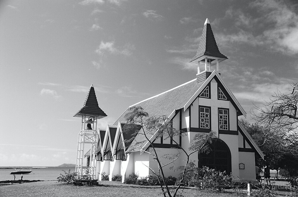 Island church by retsilla