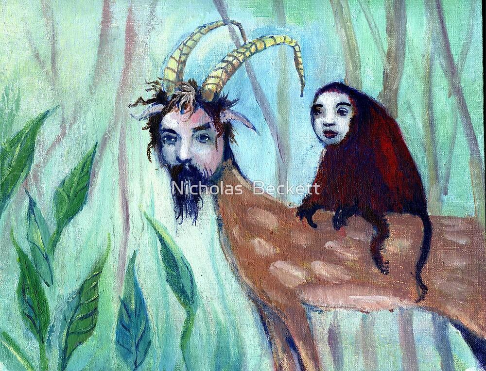 Monkey on my back by Nicholas  Beckett
